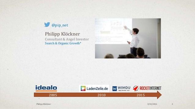 SEO: Crawl Budget Optimierung & Onsite SEO Slide 2