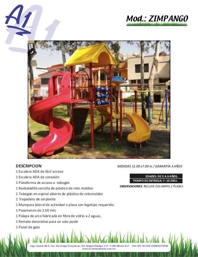A1 Contenedores Juegos Infantiles y Polideportivos Recuperacion de Es…