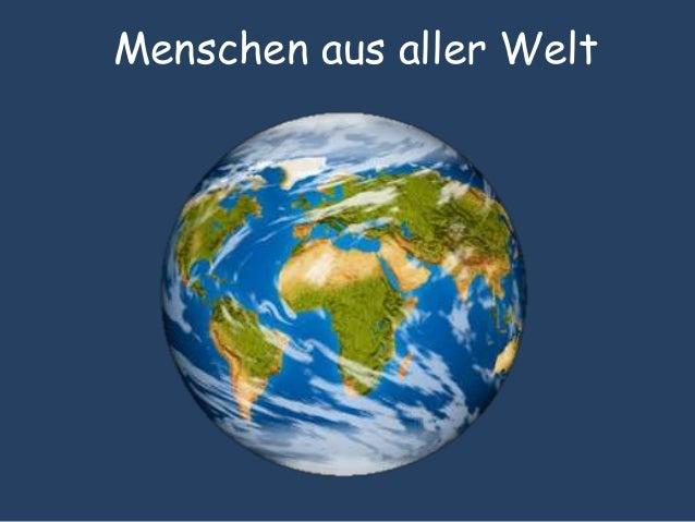 Menschen aus aller Welt