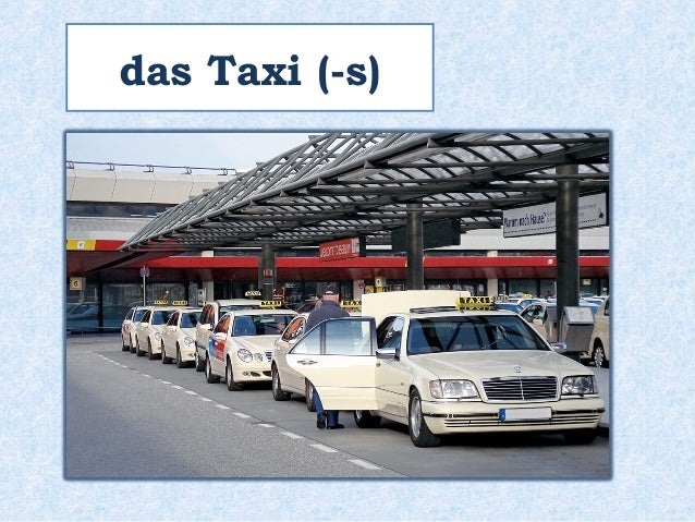 das Taxi (-s)