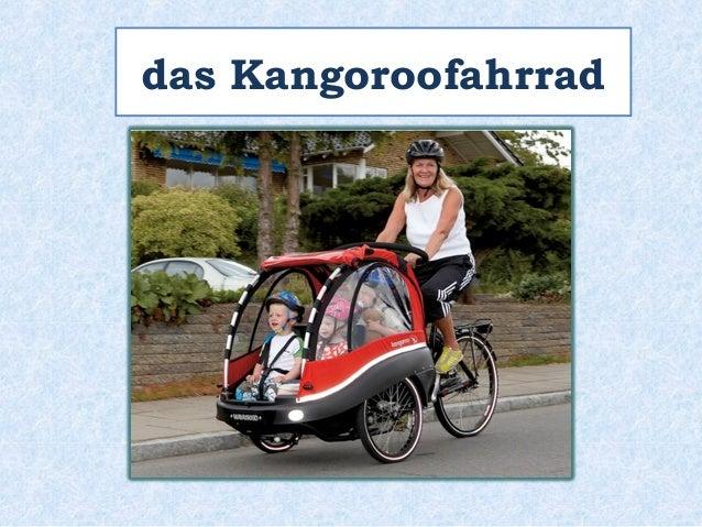 das Kangoroofahrrad