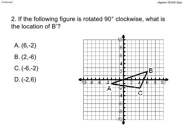 Algebra 1 Warm-ups