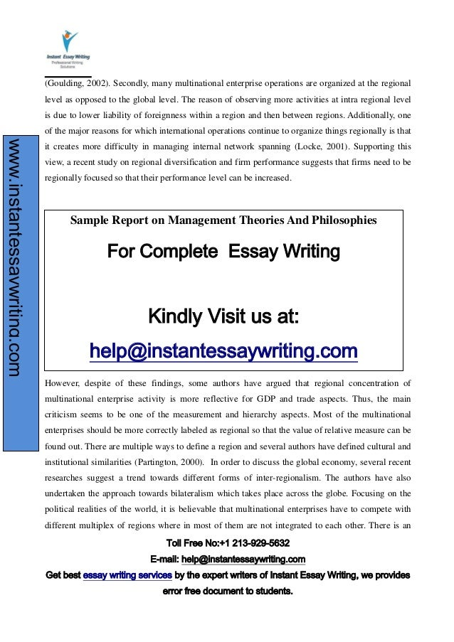 define an essay writing