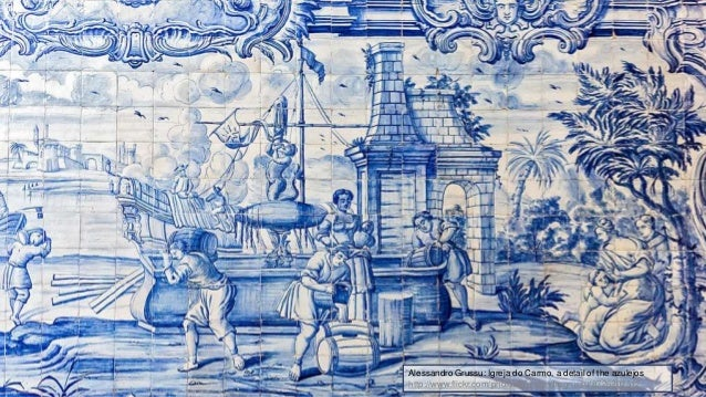 Alessandro Grussu: Igreja do Carmo, a detail of the azulejos http://www.flickr.com/photos/alessandrogrussu/8726202512
