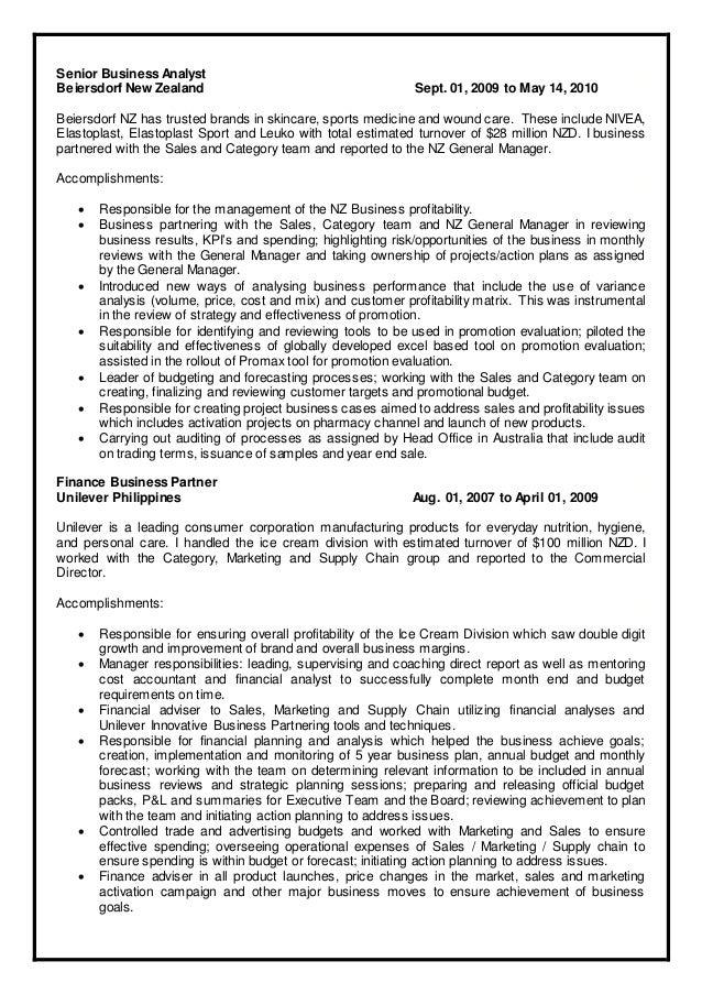 Tolle Business Analysten Ziel Lebenslauf Ideen - Entry Level Resume ...