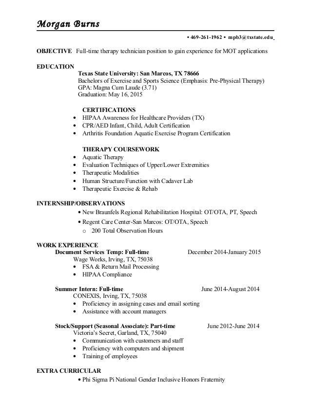 stem resume