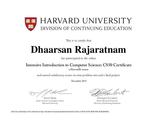 Harvardcs50