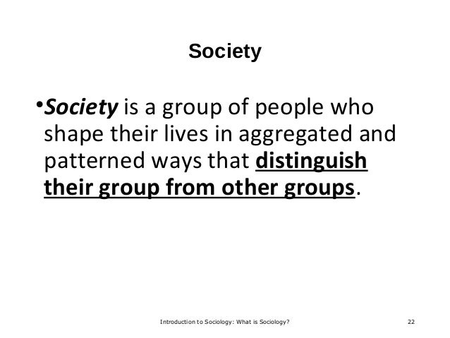 what distinguishes sociology from other disciplines Chapter one: the sociological perspective  durkheim to get sociology recognized as a separate discipline  negatively affecting other parts of society and,.