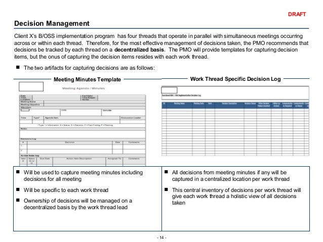 Project Decision Log Template Download Free Premium Templates. Program  Management Playbook