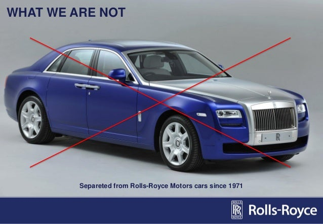 Rolls Royce Case Study - 1740 Words | Bartleby