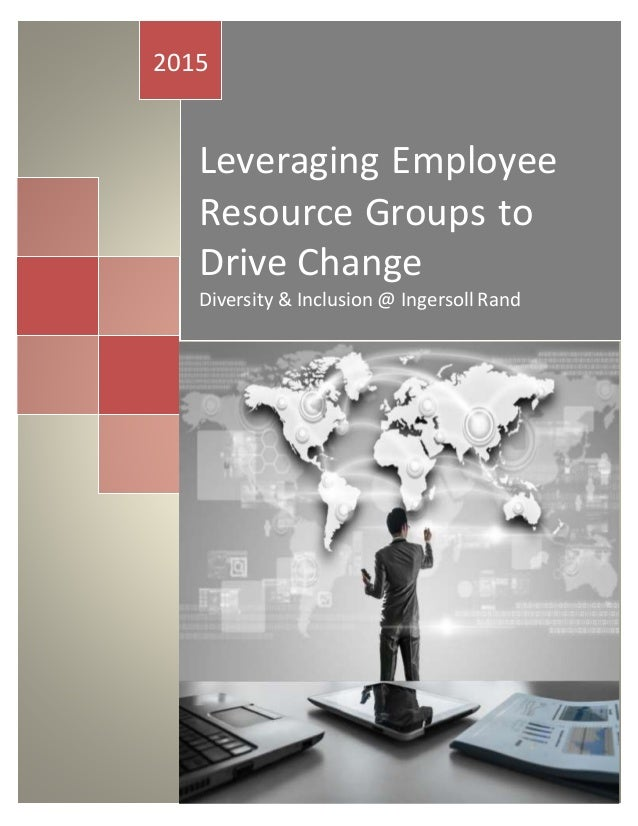 Leveraging Employee Resource Groups to Drive Change Diversity & Inclusion @ Ingersoll Rand 2015 Perez,Neddy Ingersoll Rand...