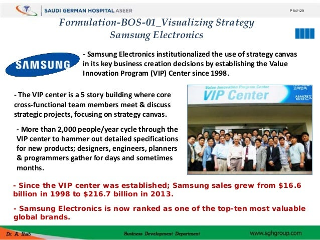 blue ocean strategy of samsung electronics Samsung has adopted successfully blue ocean strategy and company has  profited through this strategy in the past few years samsung has.
