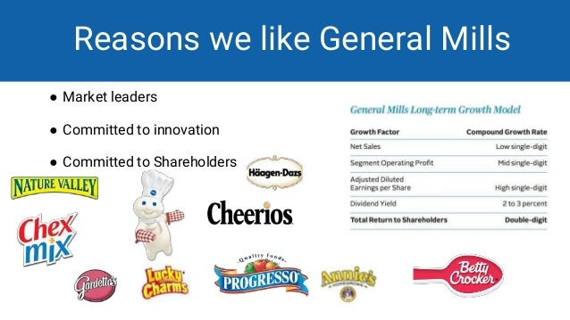 swot anlysis general mills General mills has a solid record of leveraging mid-single-digit sales growth into higher profit increases.