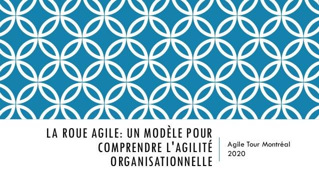 Agile Tour Montréal 2020 LA ROUE AGILE: UN MODÈLE POUR COMPRENDRE L'AGILITÉ ORGANISATIONNELLE