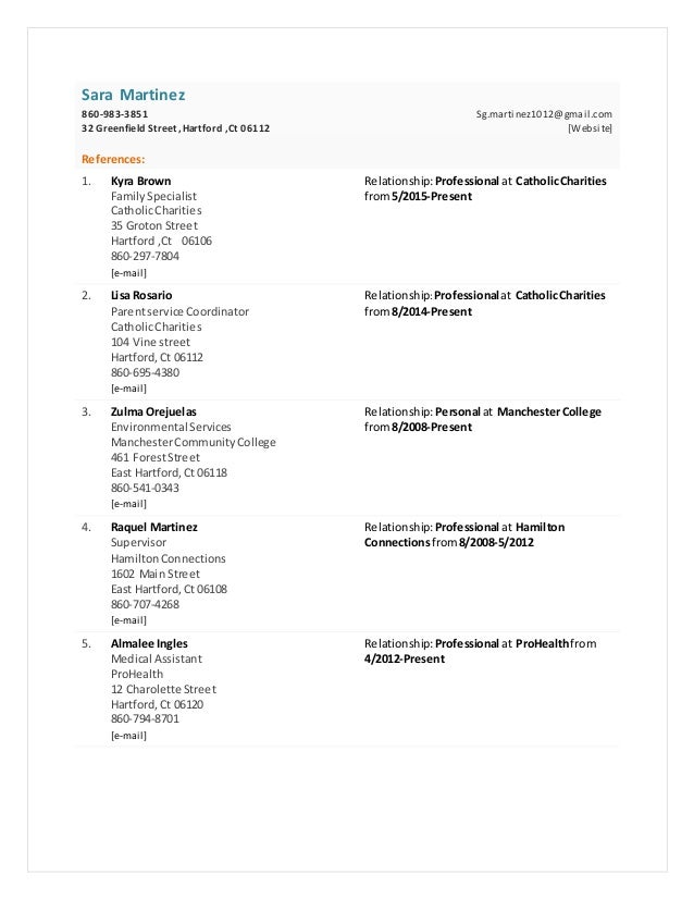 image regarding Reference Sheets for Resume identify Realistic resume reference sheet
