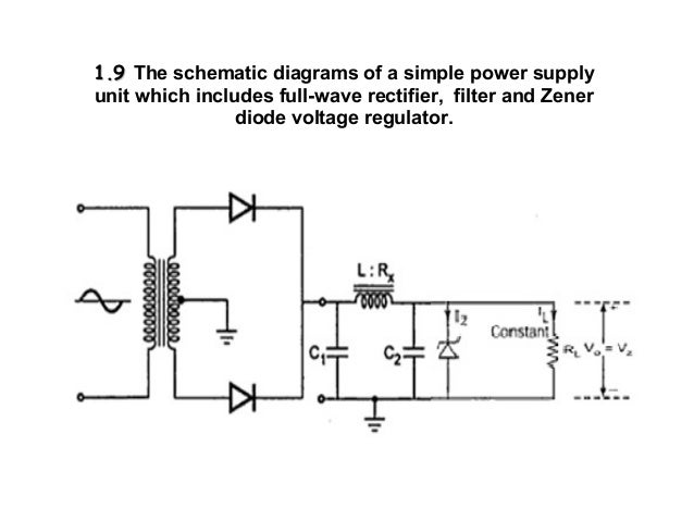 simple power supply diagram chapter 1 linear dc power supply  chapter 1 linear dc power supply