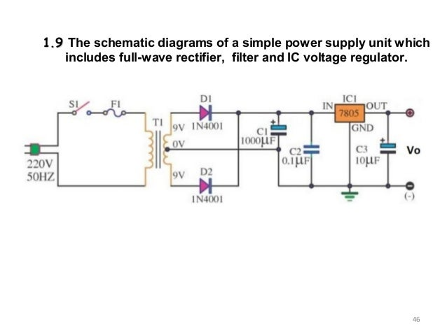 Chapter 1 linear dc power supply 46 ee3110 oscillator 48 dc linear power supply rectifier circuit filter asfbconference2016 Choice Image