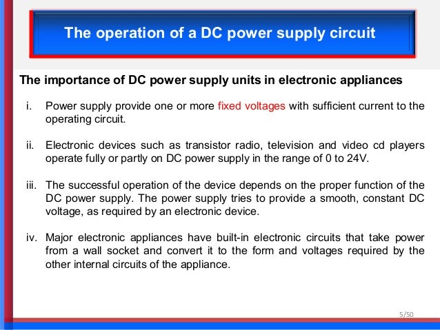 chapter 1 linear dc power supply