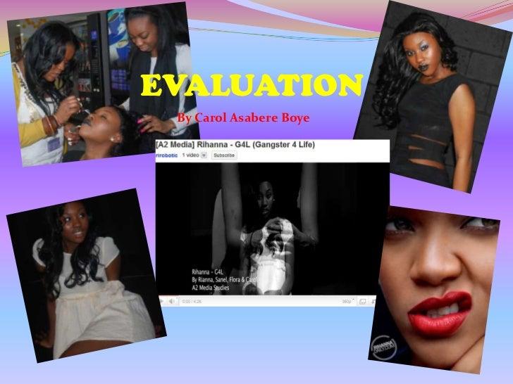 EVALUATION<br />By Carol Asabere Boye<br />