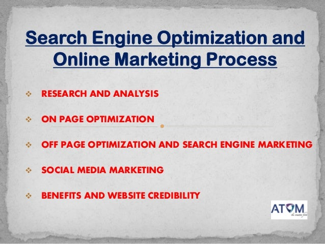  RESEARCH AND ANALYSIS  ON PAGE OPTIMIZATION  OFF PAGE OPTIMIZATION AND SEARCH ENGINE MARKETING  SOCIAL MEDIA MARKETIN...