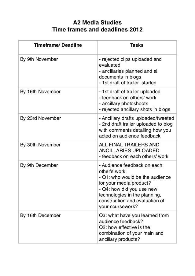 soas coursework deadline