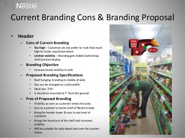 nestle proposal Keywords: nestle marketing plan, nestle marketing strategy nestle is the leading fmcg company of switzerland established by henri nestle nestle is serving worldwide with its more than 500.