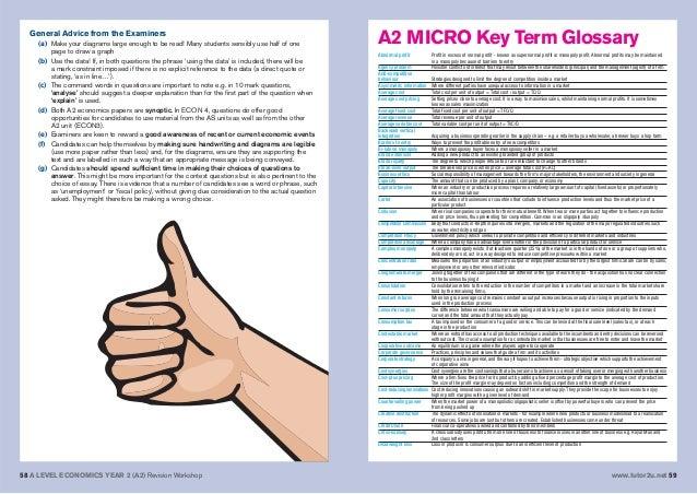 Economics a2 essay help