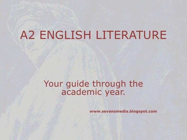 A2 english language coursework
