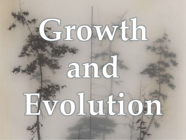 There are many different meanings of the words Growth and Evolution and how they can be interpreted in Art.