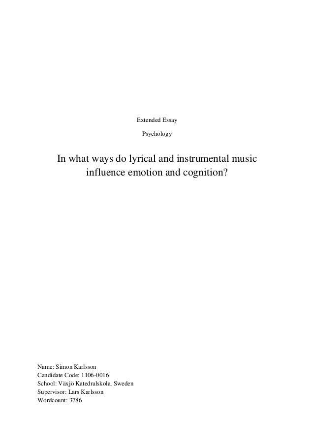 cognition and emotion essay
