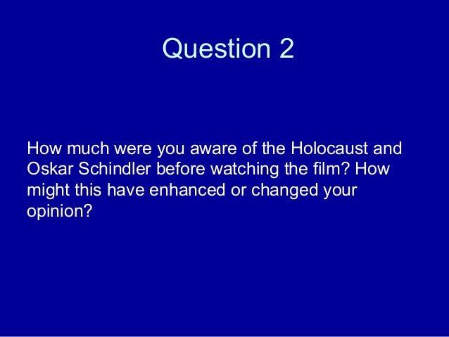 Schindler's List Study Guide