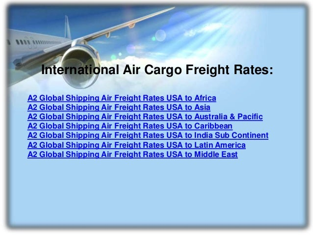 A2 Global Shipping Air Cargo Freight