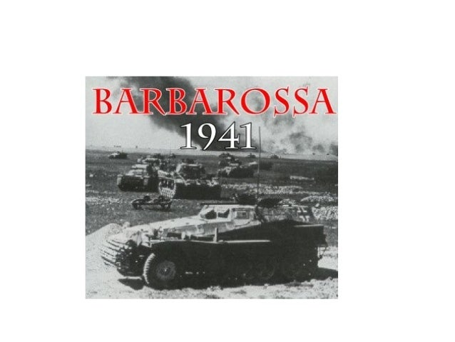 • No dia 22 de junho de 1941, três milhões de soldados alemães invadem a União Soviética,na Operação Barbarossa. Poucas ho...