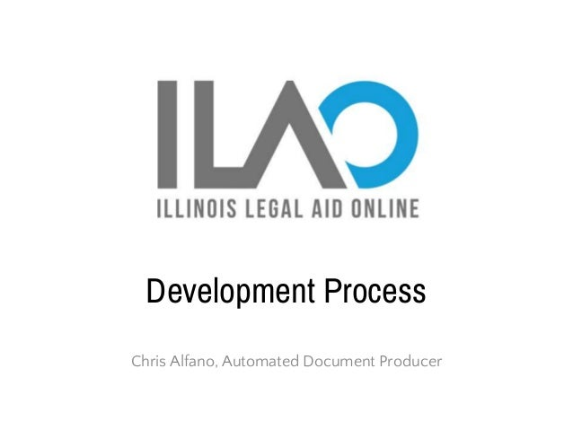 Development Process Chris Alfano, Automated Document Producer