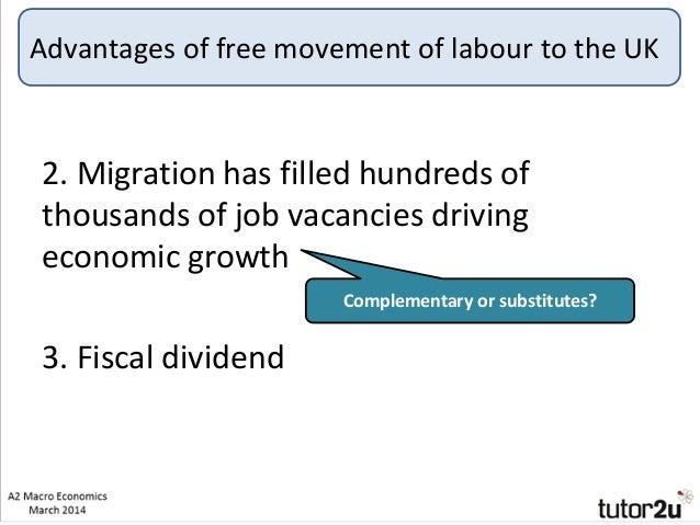 Free movement of labour – advantages