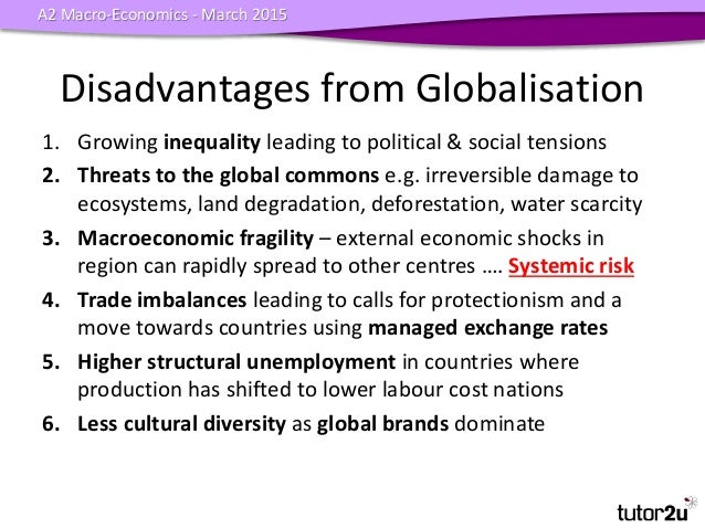 globalisation advantages together with disadvantages essay