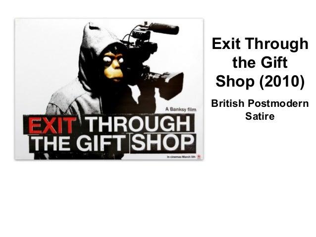 exit through the gift shop analysis