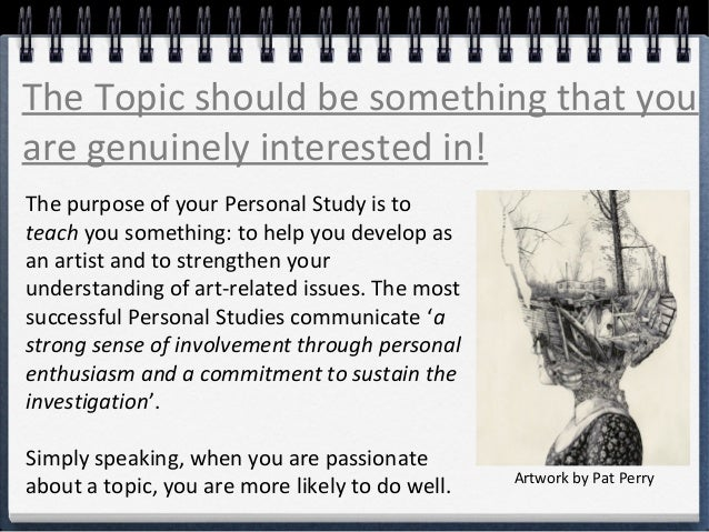 A2 Personal Study Art Essay Worksheets - image 8