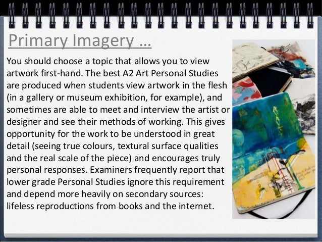 A2 Personal Study Art Essay Worksheets - image 6