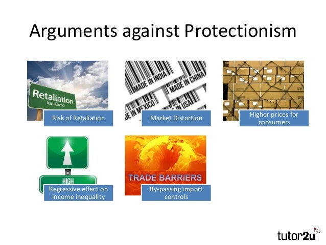 an explanation of the protectionism versus free trade argument Protectionism refers to government actions and policies that restrict or restrain international trade, often with the intent making free trade a better.