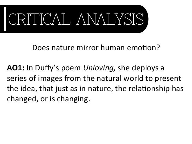 how does carol ann duffy present I haven't printed the poems here because i do not want to get sued to bits by carol ann duffy how does carol ann duffy present relationships in quick draw and.