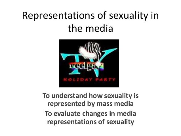 Sexuality represented in the media