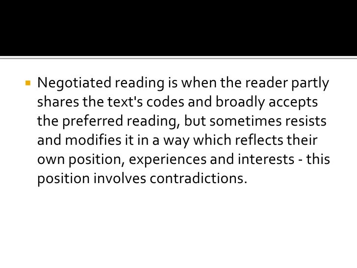 stuart hall preferred reading negotiated pdf