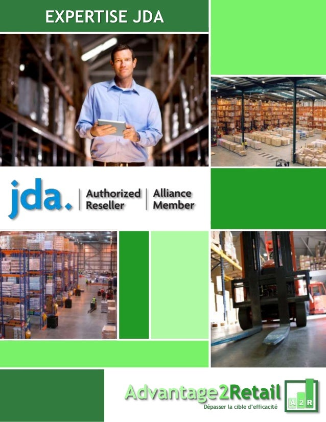 EXPERTISE JDA Advantage2Retail Dépasser la cible d'efficacité