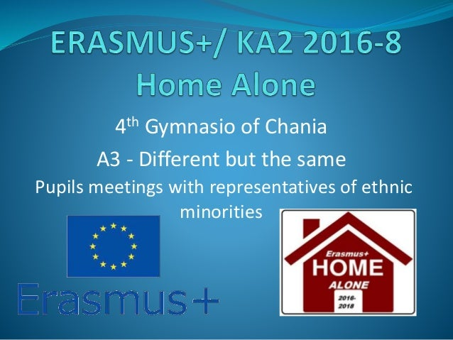 4th Gymnasio of Chania A3 - Different but the same Pupils meetings with representatives of ethnic minorities