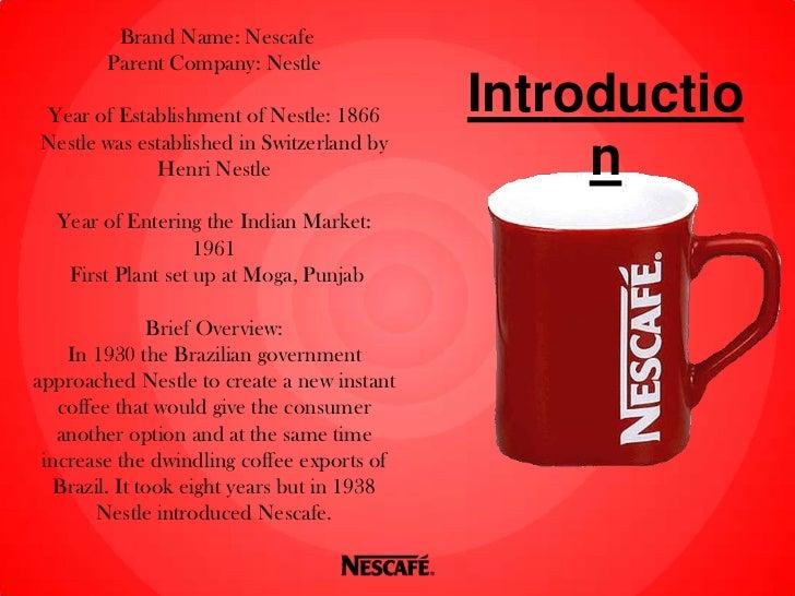 REDvolution: Repositioning the Nescafé Brand