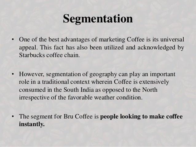 starbucks segmentation criteria