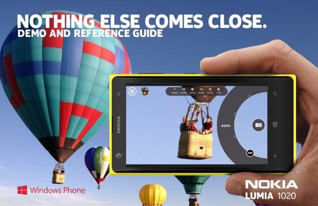 f1c13e8e1ad Nokia Lumia 1020 Demo Guide 8-19-13