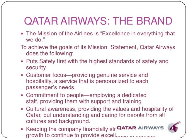analysis of mission and vision statement of emirates airlines Etihad airways is the national airline of the united arab emirates the airline was set up by a royal decree in july 2003 in abu dhabi, the capital of the uae.