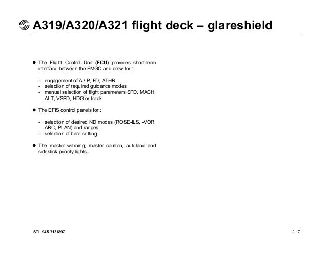 a319 320 321 flight deck and systems briefing for pilots rh slideshare net